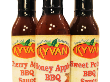 Condiments & Sauces : KYVAN Wing Sauces