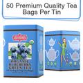 Coffee & Tea : Organic Blueberry Green Tea, 50 bags