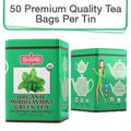 Coffee & Tea : Organic Moroccan Mint Green Tea, 50 bags