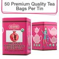 Coffee & Tea : Organic Pomegranate Green Tea, 50 bags