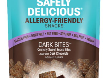 Snacks: Safely Delicious® Dark Bites™ (Case of 6 - 3 oz. Bags)