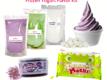 Snacks: Frozen Yogurt Flavor Kit