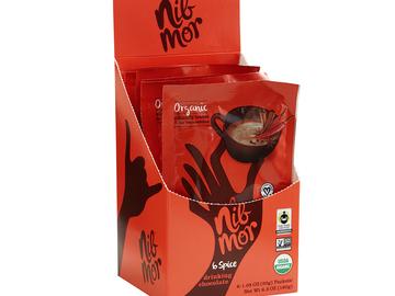 Coffee & Tea : Organic Fair Trade Vegan Drinking Chocolate - 6-Spice