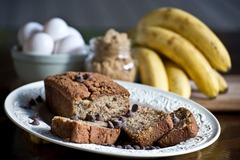 Baked Goods : Banana Bread - Chocolate Chip