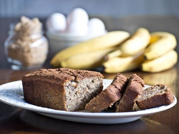 Baked Goods : Banana Bread - Bourbon Walnut