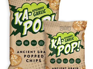 Snacks: Ka-POP Rosemary & Garlic Chips (4 pack)