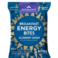 Snacks: Organic Breakfast Energy Bites-Blueberry Ginger,8ct