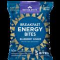 Snacks: Organic Breakfast Energy Bites-Blueberry Ginger,8ct