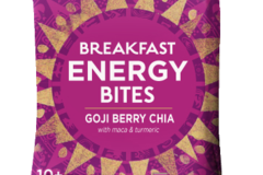 Snacks: Organic Breakfast Energy Bites-Goji Berry Chia, 8ct