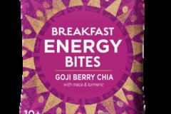 Snacks: Organic Breakfast Energy Bites-Goji Berry Chia, 8ct