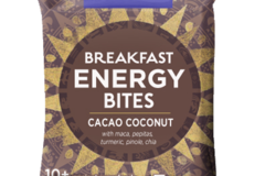 Snacks: Organic Breakfast Energy Bites-Cacao Coconut, 8ct