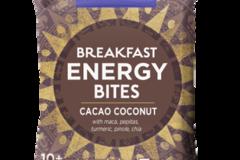 Snacks: Organic Breakfast Energy Bites-Cacao Coconut, 8ct